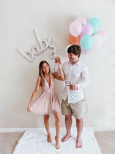 - We are Pregnant! - All Things Petite Im Pregnant Announcement, Pregnancy Announcement Photos, Pregnancy Photos, Baby Pictures, Baby Photos, Baby Room Neutral, Baby Growth, Newborn Baby Photography, Rainbow Baby