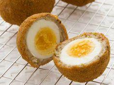 Scotch eggs, a favorite in the UK
