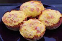 Low Carb Käse Schinken Muffins