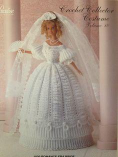 Vintage Crochet Barbie Pattern Paradise by HFWesternSupplies, $6.00