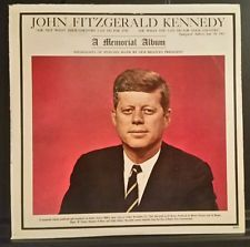 JOHN F KENNEDY A Memorial Album ~ c1963 Tribute Vinyl Record NM