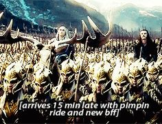 """What you missed in the new Battle of the Five Armies trailer- oh, #thranduil... the ever so majestic, fabulous king of #mirkwood"""