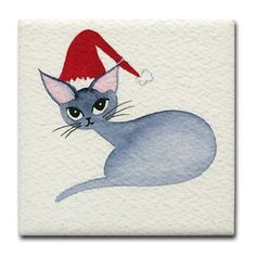 Christmas kitty - Gift Ideas For Cat Lovers (CafePress.com)