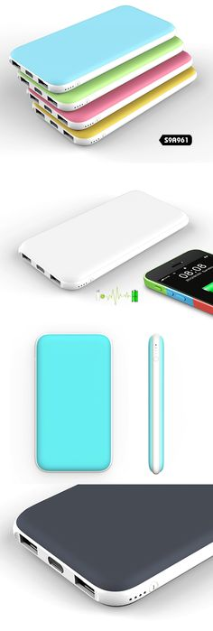 Ultrathin Power Bank with 2 charging ports| Buyerparty Inc.
