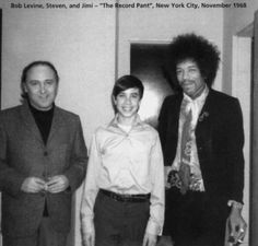 With Bob Levine & Steve Angel: The Record Plant, New York City 1968