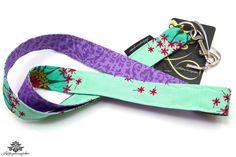 Schlüsselband türkis lila - ein Lieblingsstück aus der #Lieblingsmanufaktur