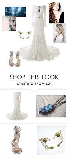 """""""LOTR! Vanya Eleniel, Lothlorien"""" by zainab-queen ❤ liked on Polyvore featuring Steve Madden and Greenleaf"""
