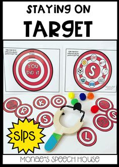 TARGET SPEECH FOR THE WIN!!! Do you like new materials that spark your interest and get your speech students making progress, including in the classroom? SLPs will love this fun resource which includes color and black & white TARGETS. Visual cues included. This resource will help your students practice multiple speech sounds while having fun! These are perfect for speech therapy, pre-k, special education, autism, kindergarten, 1st, 2nd, 3rd, 4th, 5th graders.