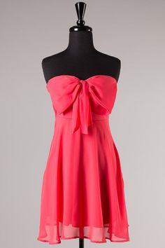 Swoon Boutique : Bow Me A Ring Dress - S2D24 $45.00