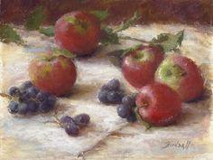 BoldBrush Painting Competition Winner - November 2009 | Five Apples by Stephanie Birdsall