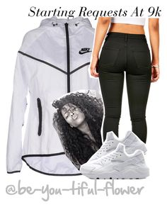 """""""Requests At 9k--"""" by be-you-tiful-flower ❤ liked on Polyvore featuring NIKE"""