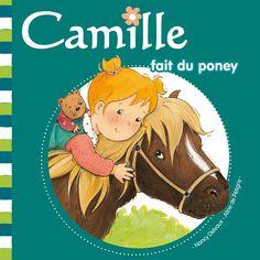Camille fait du poney  de Nancy Delvaux illustré par Aline de Pétigny  Hemma dans la collection Camille