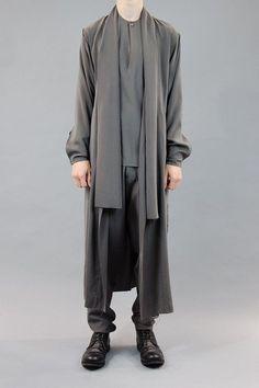 Damir Doma Long Belted Coat