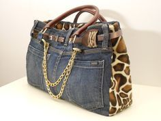 NYC bag/by My Jeans Bag #style #trendy #jeansbags