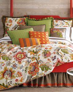 Cute summer bedding