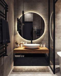 Bathroom Design Luxury, Bathroom Layout, Modern Bathroom Design, Small Bathroom, Home Room Design, Home Interior Design, House Design, Bathroom Design Inspiration, Beautiful Bathrooms