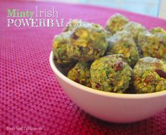 Barr & Table Minty Irish Powerballs Cashew Butter Perfect Fit Protein