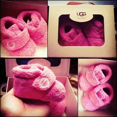 cutest baby girl ugg so teeny Cute Baby Girl, Baby Love, Cute Babies, Baby Uggs, Baby Slippers, Baby Sewing, Little Princess, Baby Gear, Future Baby