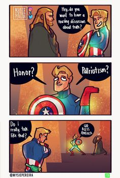 Loki will always be a lil shit. Also old man Steve has a fanny pack to carry all of 'em infinity stones, he heard it's what all the cool kids are wearing (except it was Quill who told him. Funny Marvel Memes, Marvel Jokes, Dc Memes, Avengers Memes, Marvel Dc Comics, Marvel Avengers, Superhero Memes, Chris Evans, Marvel Universe