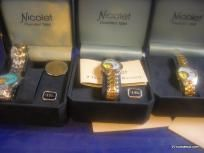 LOT OF 6 NEW NICOLET WATCHES $600++ RETAIL VALUE FREE SHIPPING