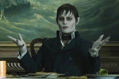 Johnny Depp stars as Barnabas Collins in the latest film to pair him with director Tim Burton. The film features Depp as the iconic. Johnny Depp Dark Shadows, Dark Shadows Movie, Young Johnny Depp, Johnny Depp Movies, Sweeney Todd, Manado, Vampires, Beatles, Slytherin