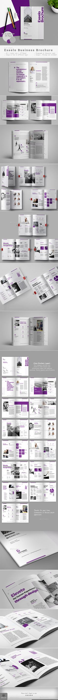 Brochure — InDesign INDD #annual report template #profile • Download ➝ https://graphicriver.net/item/brochure/19747183?ref=pxcr