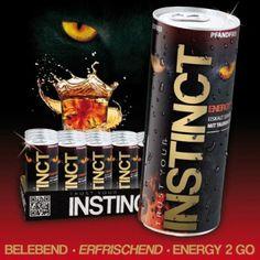 Food Energy Drink Instinct 250ml aus Großhandel und Import