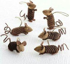 Pinecone rats