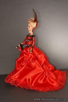 L'Atelier di Tiziana - Barbie OOAK realizzate a mano - Foto di dettaglio