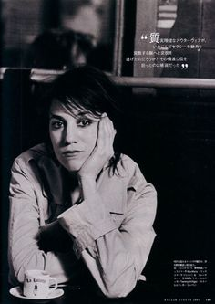 Charlotte Gainsbourg by Peter Lindbergh for Harper's Bazaar Japan August 2004 | Fashion Editor Simon Robbins.