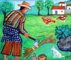 Lorenzo Gonzalez Chavajay Mayan calendar artist