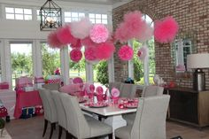 Pretty In Pink Birthday Party!