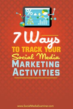 tips for tracking your social media marketing activities