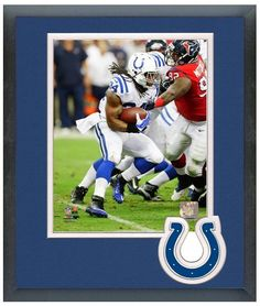Trent Richardson 2013 Indianapolis Colts - 11 x 14 Framed/Matted Photo