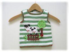Pullover - *auf der Alm* - ein Designerstück von bipessa bei DaWanda