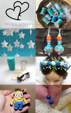 Not-so-Basic Blue by Gabbie on Etsy--Pinned with TreasuryPin.com