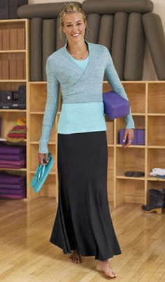 Exercise skirts. They have some cool stuff on this web site!