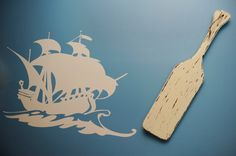 Pirate ship oar by rizOHcollection on Etsy, $38.00