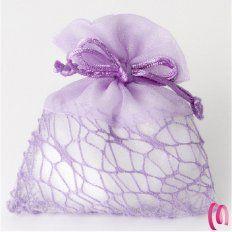 Sacchetto bag con rete 10 pezzi