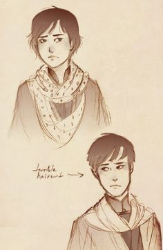 "Clariel | The Old Kingdom Series | Abhorsen Trilogy | ""Clariel Sketches"" by rosesdrawings"