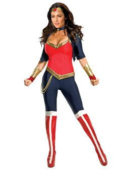 Modern Wonder Woman costume #Halloween #Comic