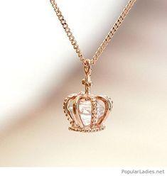 Princess necklace design