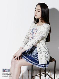"[OFFICIAL] Wonder Girls' Ahn SoHee – Tommy Hilfiger Denim ""All About PREP DENIM"" Spring 2013 Collection ⓒTOMMY http://www.tommy.co.kr/"