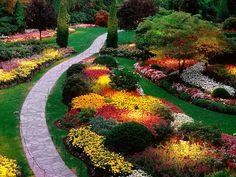 Los Jardines Butchart. Isla de Vancouver.