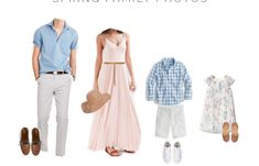What to Wear For Spring Family Photos