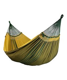 Look what I found on #zulily! Gold Mares Family Hammock by LA SIESTA #zulilyfinds