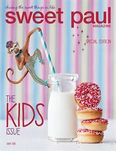 HERE'S A SNEAK PEEK JUST FOR OUR PINTEREST FRIENDS! Read the Sweet Paul Kids Issue now! ^__^