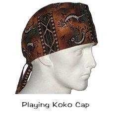 Surgical Caps Playing Koko