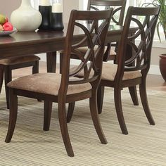 Shop for Cheshire Rich Espresso Traditional Dining Chair by TRIBECCA HOME (Set of 2). Get free shipping at Overstock.com - Your Online Furniture Outlet Store! Get 5% in rewards with Club O!