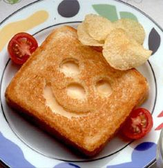 Funny Face Grilled Cheese Recipe | Maypurr